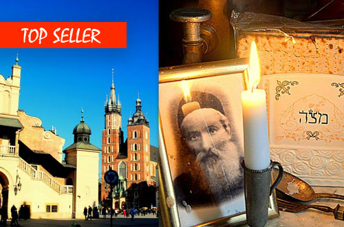 2 in 1 Day - Krakow Old Town and Kazimierz Jewish Quarter Private Tour